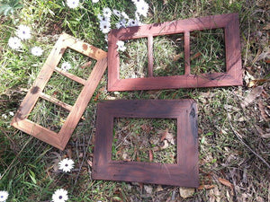 Eco Friendly Repurposed Australian Timber Picture Frames custom made to your requirements