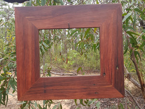 Red Gum Recycled Australian Timber Photo Frames in All Sizes, Eco Friendly and handmade