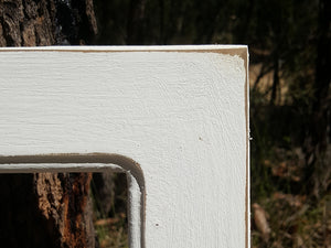 White Picture Frames and White Mirrors Shabby Chic Custom Framing Australia at Wombat Frames