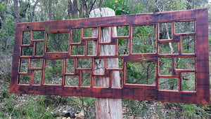 Wombat Frames Recycled Timber Oregon Multi Picture Frames