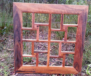 Wombat Frames Australia Family Collage Picture Frame Salvaged Timber