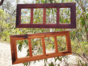 Wooden multi photo frames online custom picture frames made with Recycled Timber in Australia