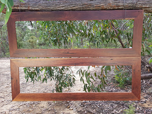 Gorgeous Red Gum Recycled Timber Frame for Handcrafted Dress Mirrors Australia