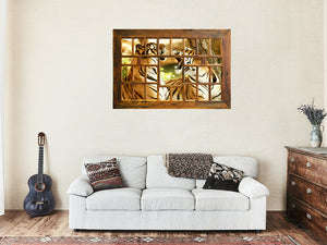 Large Wooden Multi Photo  Collage Frame made in Australia using Eco Friendly Recycled Timber