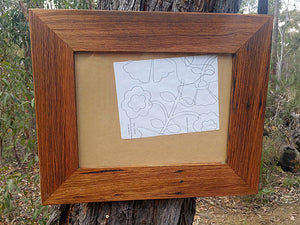 Singe Recycled Timber Picture Frames Eco Friendly Custom Framing Australia