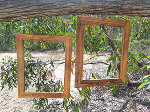 A3 Single photo Frames custom made in Eco Friendly Australian Recycled Timber