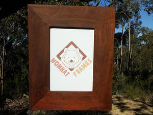 Australian Red gum A4 Picture Frame Eco-friendly recycled timber made to order