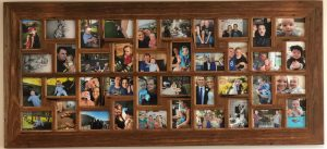 Australian Wooden Family Photo Frame