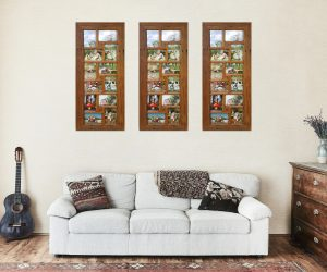 Eco friendly 12 opening Multi Family Photo Frames Australia
