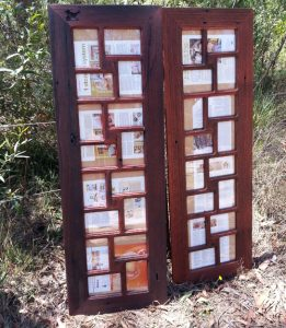 Recycled Timber Redgum Family Photo Album Frame