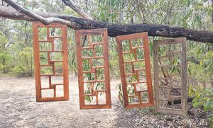 Rustic Timber Photo Frames for 12 Photos