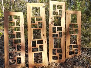 Wooden collage photo frames recycled Australian Timber