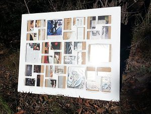Large White multi picture photo frames Recycled Timber Australia