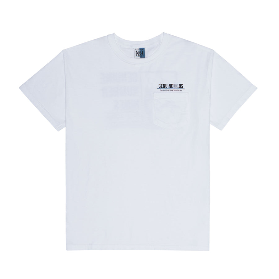 TIME T-SHIRT - WHITE