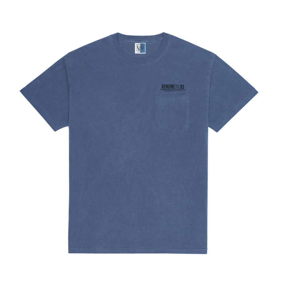 TIME T-SHIRT - BLUE
