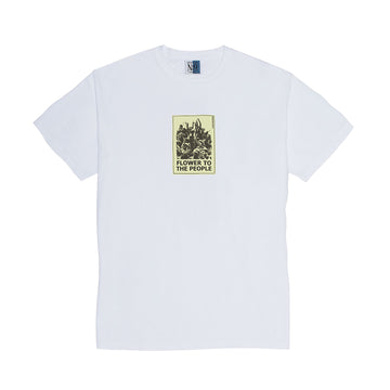 FLOWER T-SHIRT - WHITE