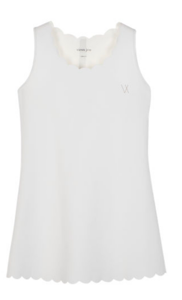 Vieux Jeu Helena Dress - White - Game Set
