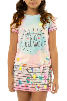 Lucky in Love Big Dreamer Tee - Girls - Game Set