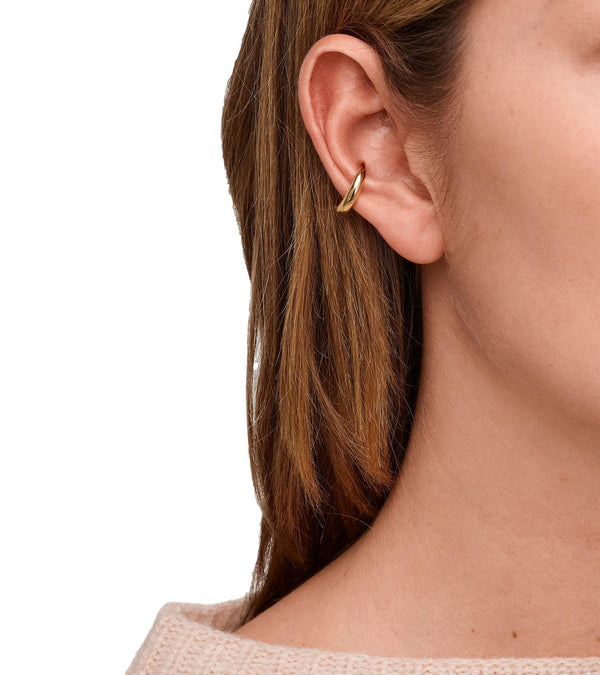 Tom Wood Jewellery Ear Cuff Slim Øredobber Gull - modostore.no