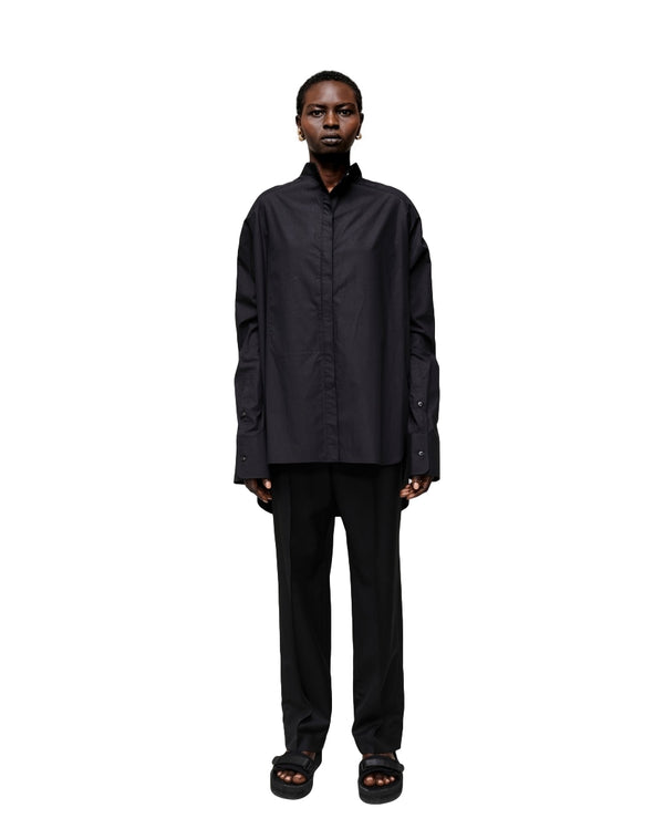 Tom Wood Overshirt W Skjorte Sort - modostore.no