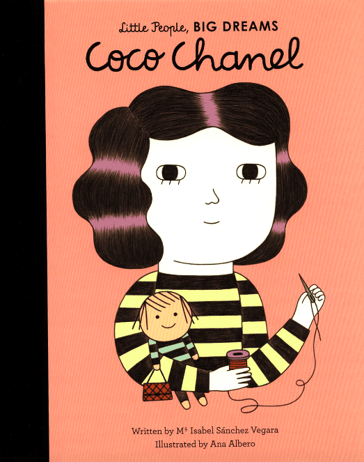 New Mags Little People, Big Dreams - Coco Chanel Coffee Table book Rosa - modostore.no
