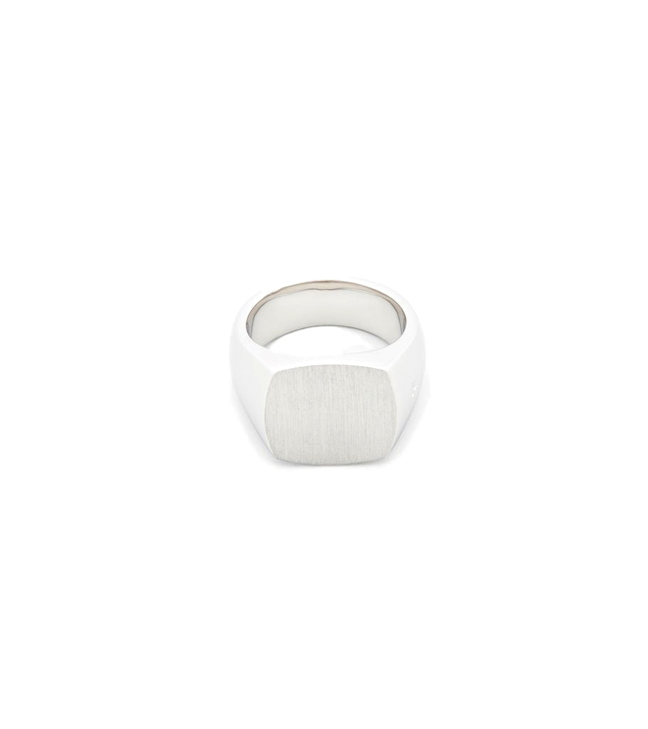 Sølv Tom Wood The Cushion Satin Ring