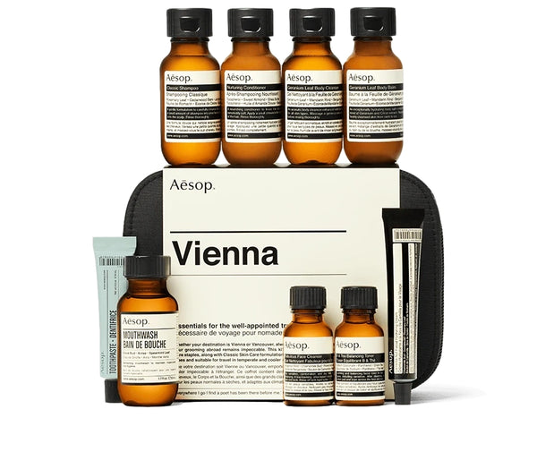 Aesop Vienna City Kit Classic Bodycare Sort