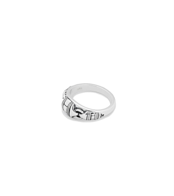 Tom Wood Jewellery Link Band Ring Ring Sølv - modostore.no