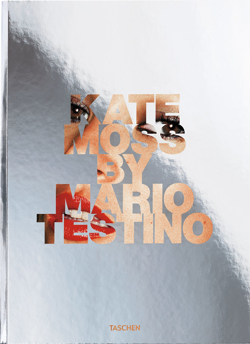 New Mags Kate Moss By Mario Testino Coffee Table Book Grå