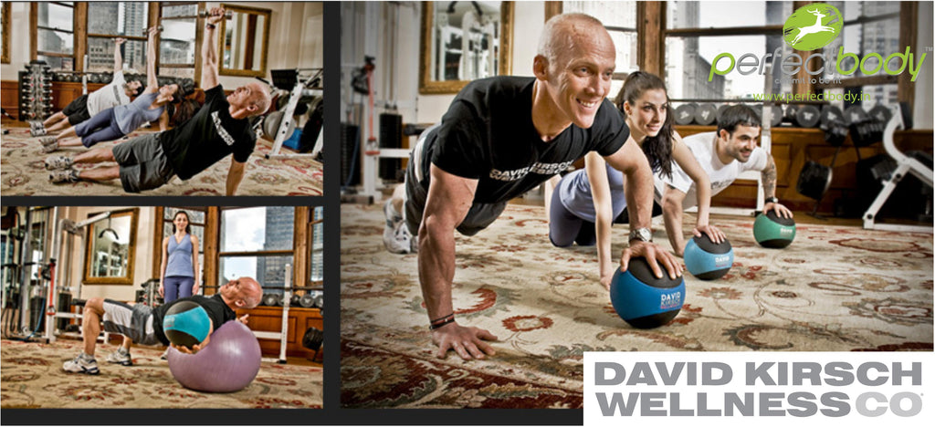 David Kirsch wellness Medicine ball