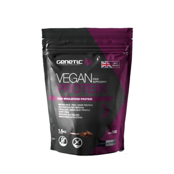 Genetic Vegan Protein 1.5 Kg Chocolate