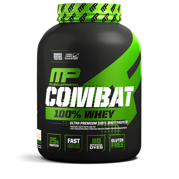 MusclePharm Combat 100% Whey, 5 lb Cookies & Cream