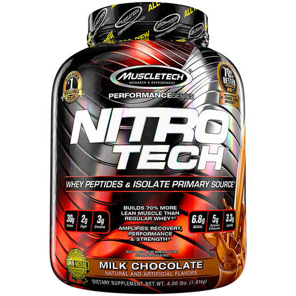 Muscletech Nitrotech Performance Series Whey 4lbs Chocolate