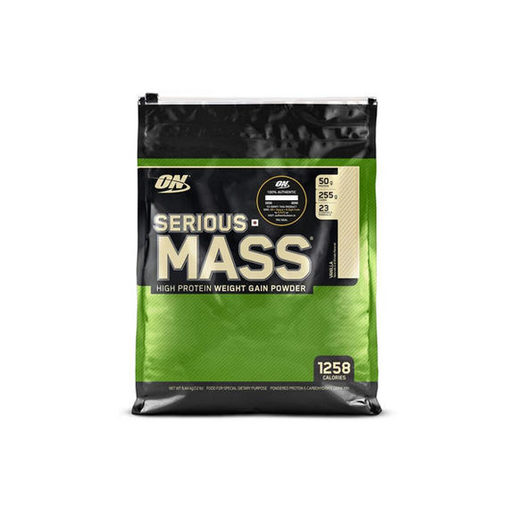 Optimum Nutrition ON Serious Mass 12 lbs + Free Gallon