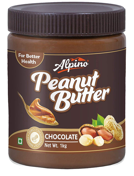 ALPINO CHOCOLATE PEANUT BUTTER, 1KG (PACK OF 12)