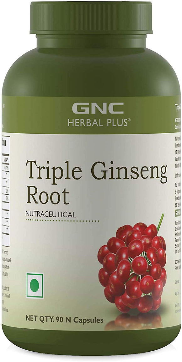 GNC Triple Ginseng Caps [90 tablets]