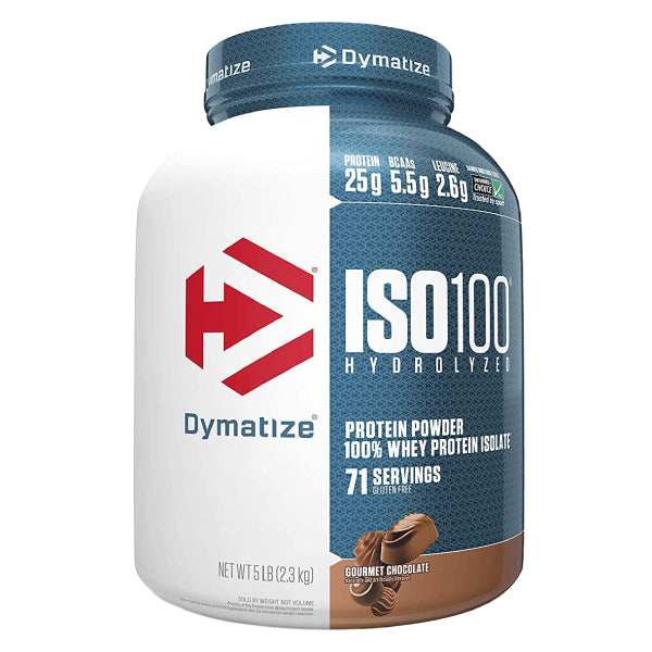 Dymatize ISO 100 Whey Protein 5lbs Chocolate