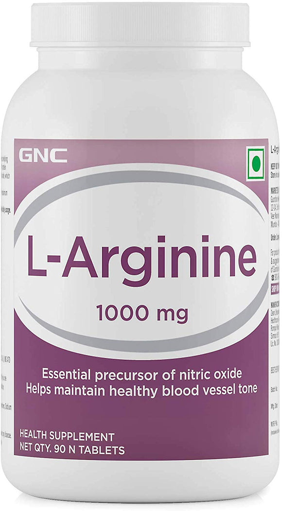 GNC L-Arginine 1000 MG [90 tablets]
