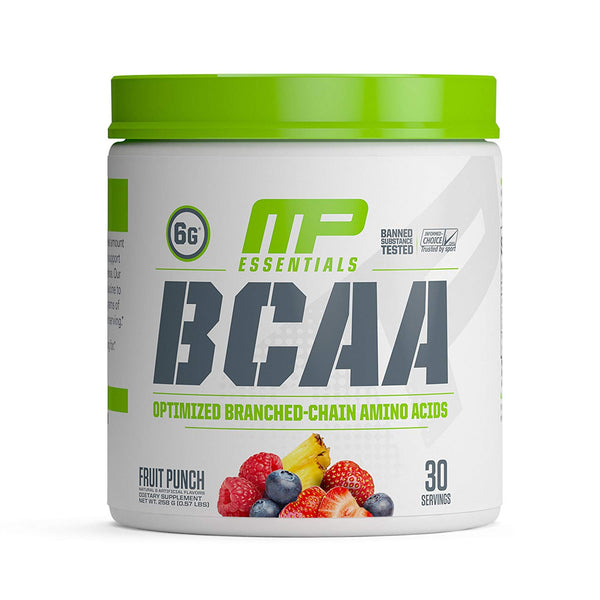 MusclePharm BCAA essentials cap 32 ser 225 gm fruit punch