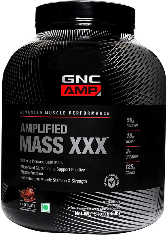 GNC AMP Mass XXX Powder 3 kg