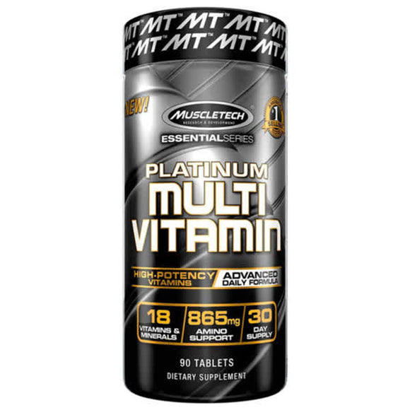 Muscletech Essential Series Multivitamin 90Tablets