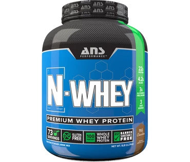ANS N-WHEY 5 LBS & GET SHAKER FREE!!