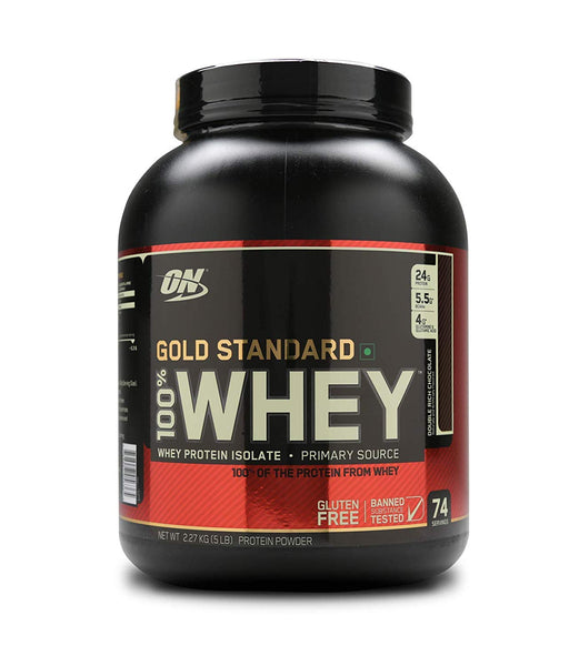 Optimum Nutrition ON Gold Standard 5lbs Double Rich Chocolate