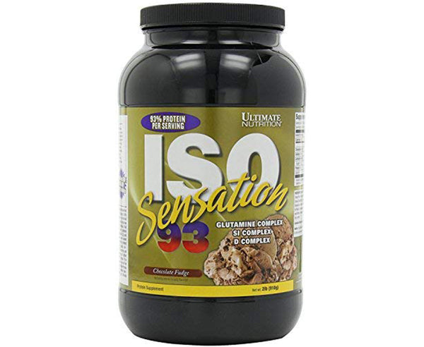 Ultimate Nutrition ISO Sensation - chocolatefudge - 2Lbs