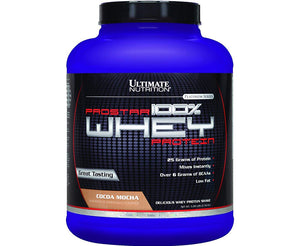 Ultimate Prostar 100% Whey Protein Cocoa mocha 5 LB (Ultimate Nutrition Skull Cap & Funnel free!!)