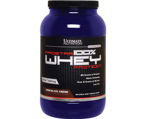 Ultimate Prostar 100% Whey Protein Chocolate 2 LB