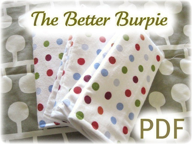 The Better Burpie Burpcloth Pattern