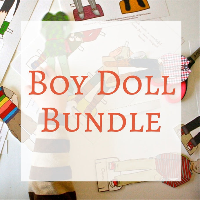 Paper Dolls - Boy Bundle