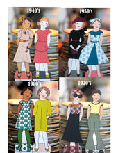 Paper Dolls - Girl Paper Doll Century in Fashion Bundle