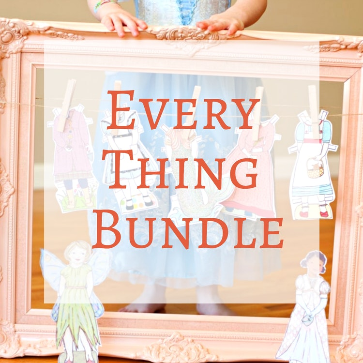 Paper Dolls - The Everything Paper Doll Bundle